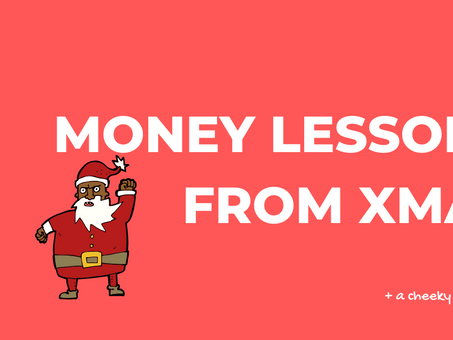 Money lessons from Christmas