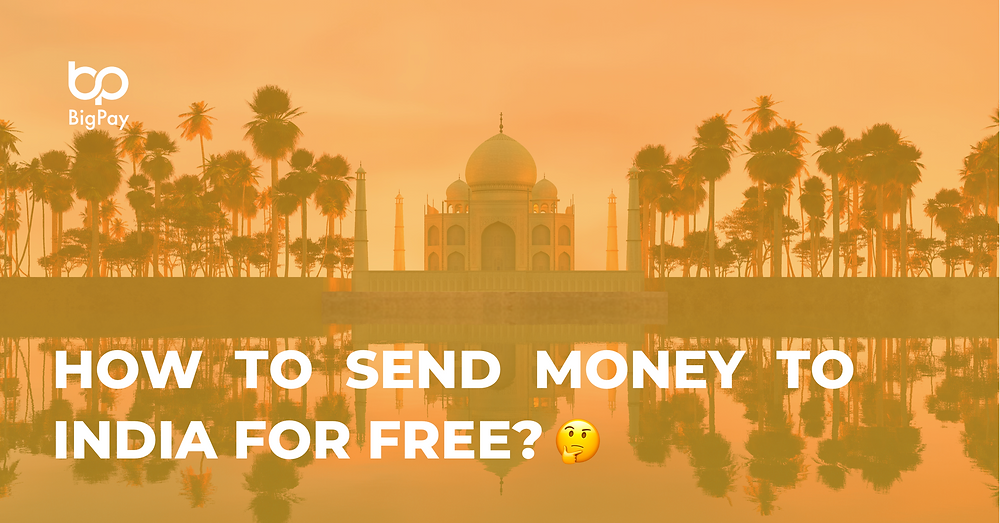 How to send money to India for free?
