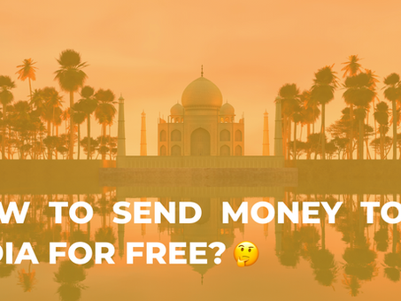 How to send money from Malaysia to India for free?