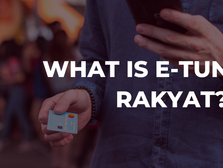 What is E-Tunai Rakyat? 🤔