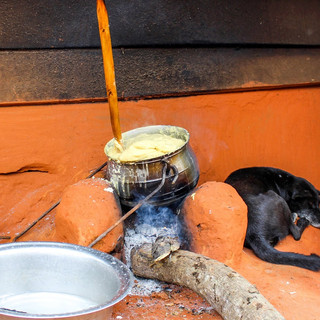Traditional Ghanian Food
