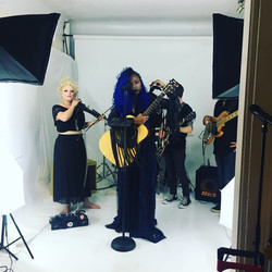 'I Am The Industry' video shoot