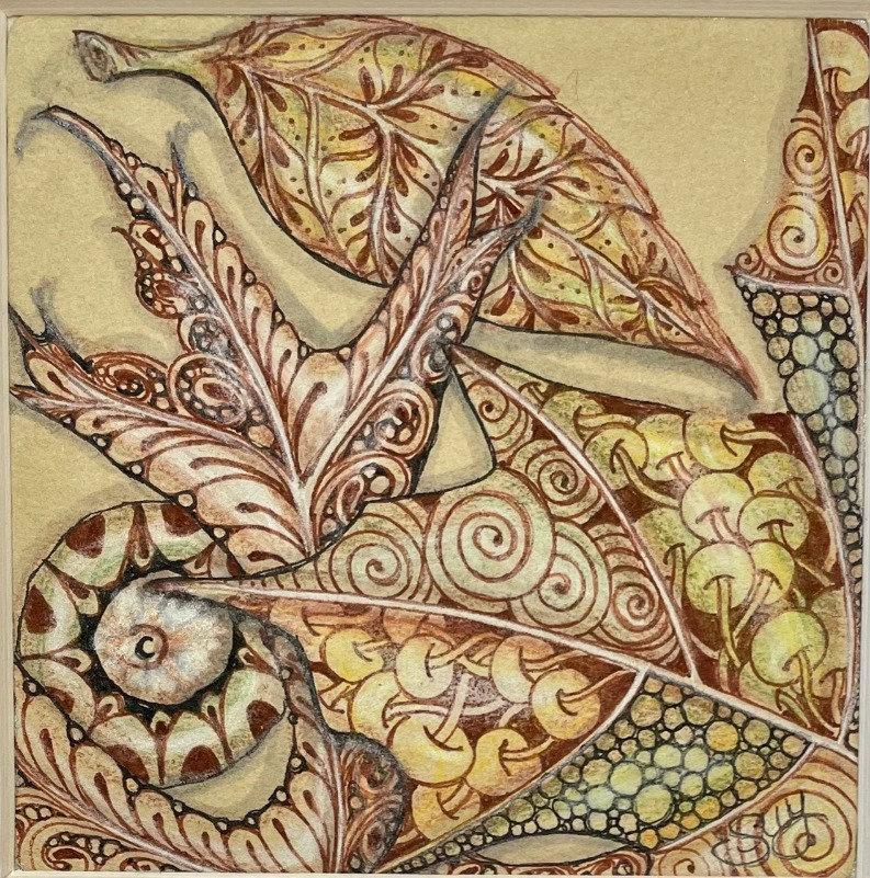Tints On Tan Fall - Autumn Splendor