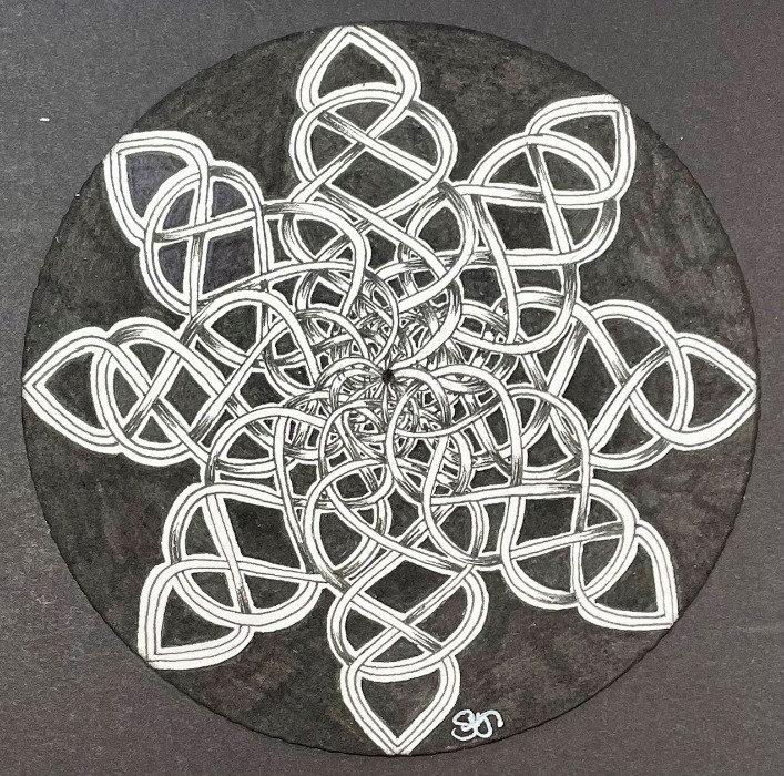 Blooming Knots - Zendala Style