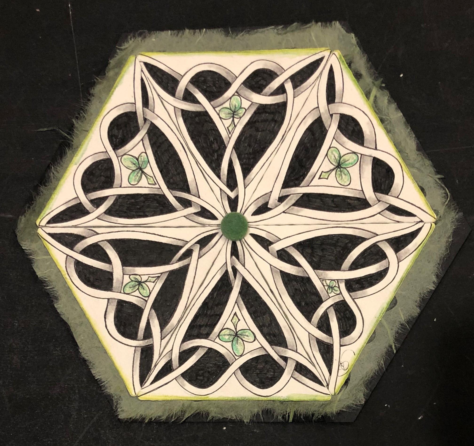 3Z Mosaic with an Irish Twist