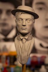 Buster Keaton bust 1