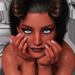 Tela in the Grey Room: Portrait