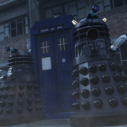 Exterminate the Doctor!  EXTERMINAAAAATE!!!