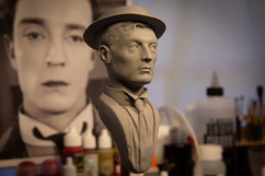Buster Keaton bust 2
