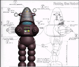 Robby and original blueprints 1