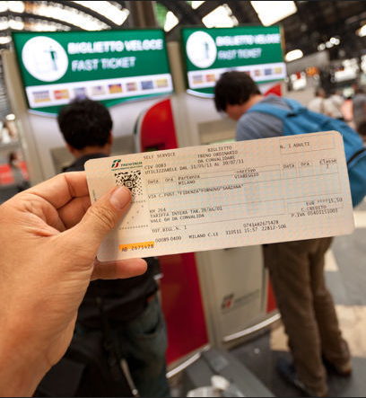 Tickets vs Passes on Trains