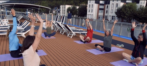 Yoga in the morning anyone? Amawaterways