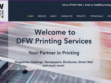 No Print Job is too big or too small for Your Partner in Printing