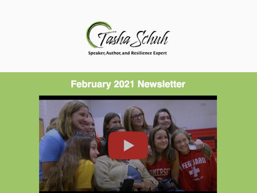 """I Teach Resilience"" - Tasha Schuh, February Newsletter"