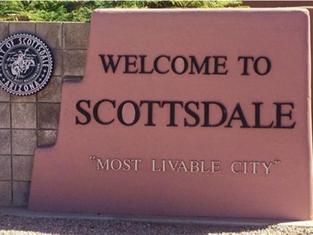Burning in Scottsdale