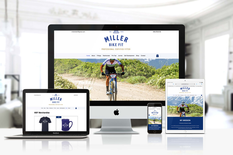 Miller Bike Fit is a California-based professional bike fitting service owned by Lj Miller. A cycling industry veteran, Lj is a professional bike fitter with a passion for helping cyclist improve their riding experience. As the business is expanding, MBF needed a professional website that reflects the commitment to its clientele and its mission. An online shop and online booking were needed as well. We created an online presence for MBF that functions as a sales as well as an educational platform.