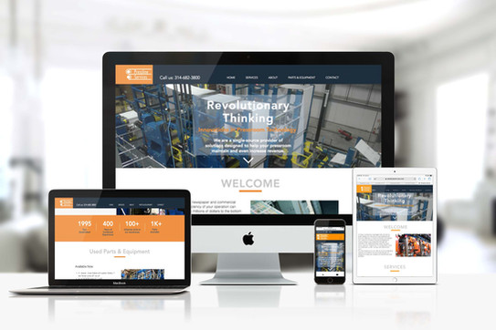 Pressline Services is a manufacturing company that provides press modifications and upgrades to newspaper printers around the world. Their previous web design company shut doors and left them without a website. We worked with the owner to create a compact website that wouldn't break the bank and could be live within a week.