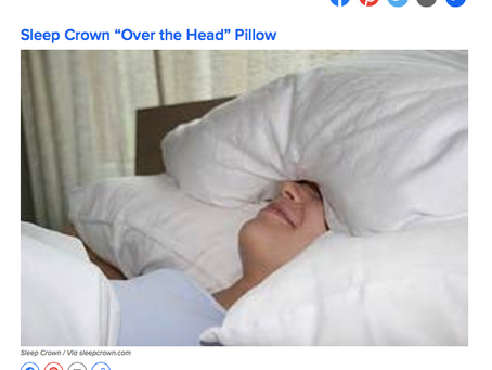 """Sleep Crown featured in Buzzfeed (again): """"Products For Self-Care During The Holiday Season!&qu"""