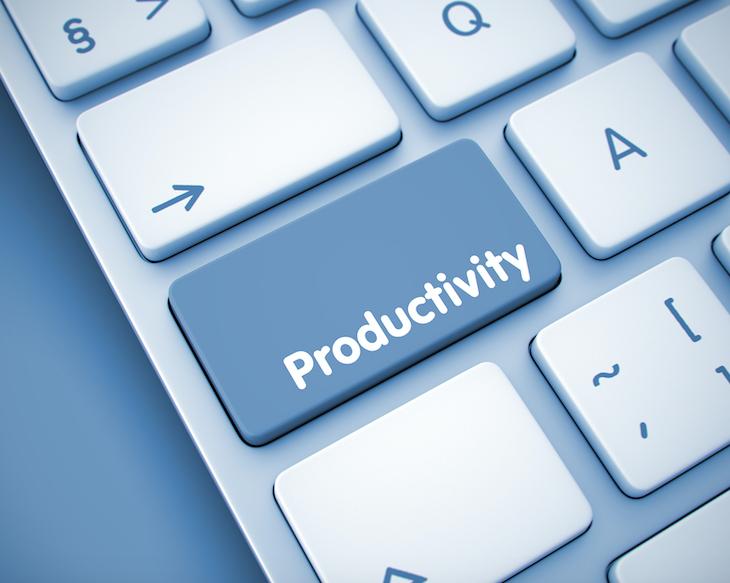 Productivity button
