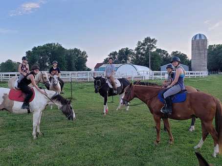 HORSE CAMP! AUGUST HAS OPENINGS