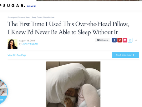 Popsugar loves Sleep Crown