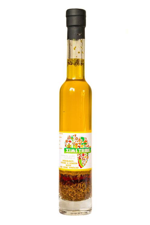 Rosemary Thyme Lemon Red Wine Vinegar Infused Rapeseed Oil