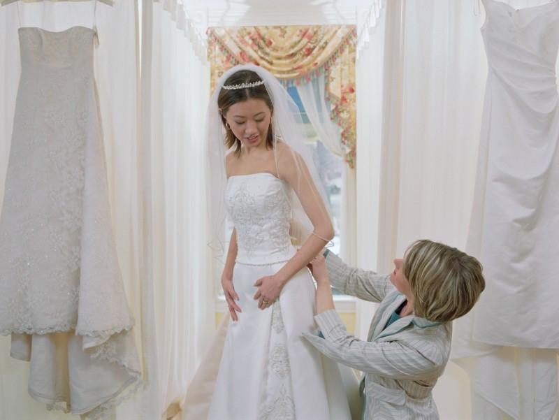 Wedding Dress Fitting