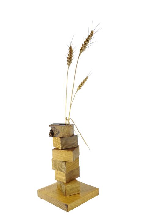 Bauklotz-Vase