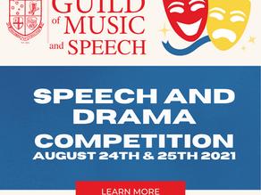 AGME save speech and drama eisteddfod!