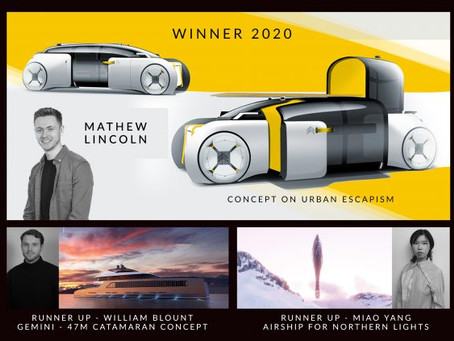Steve Olney awards goes virtual as Coventry University automotive design class of 2020 attend annual