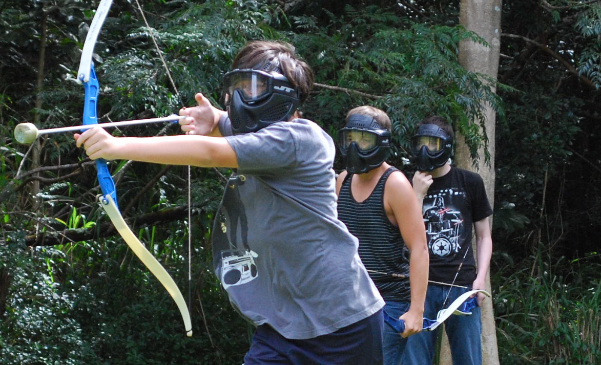 Dodgebow action!