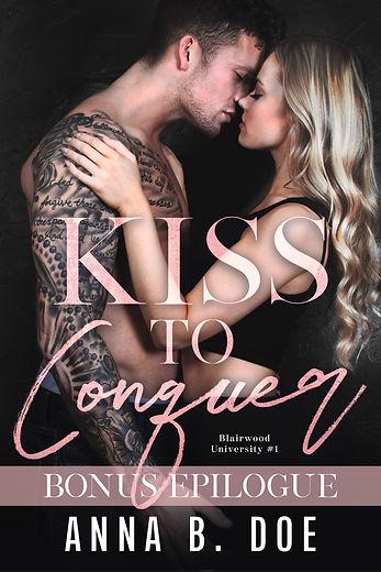 Kiss To Conquer - ebook BONUS EPILOGUE.j