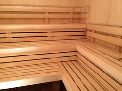Neue Sauna