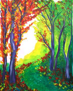 Autumn Emerald Forest