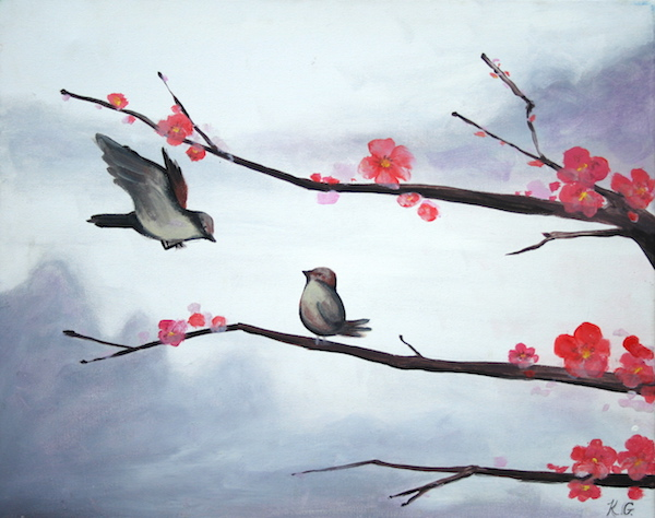Birds & Blossoms