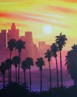 LA Sunset Skyline