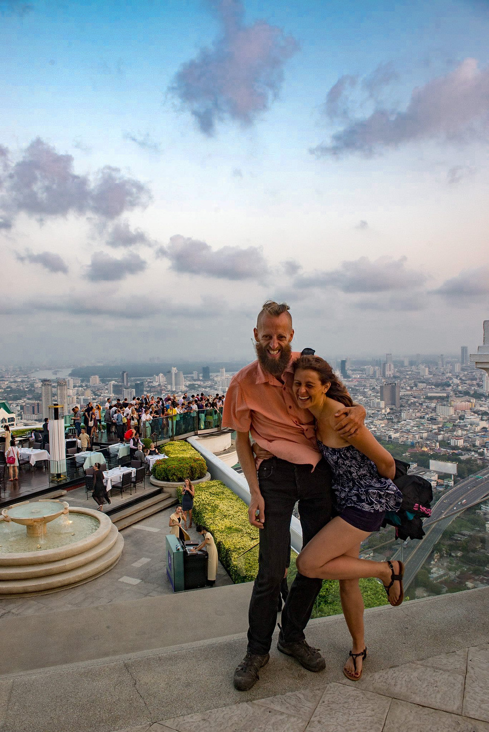 On top of Lebua State Tower