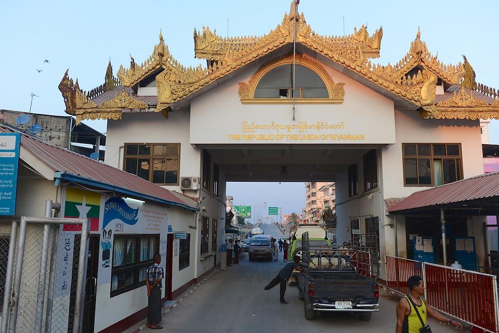 Border to Thailand