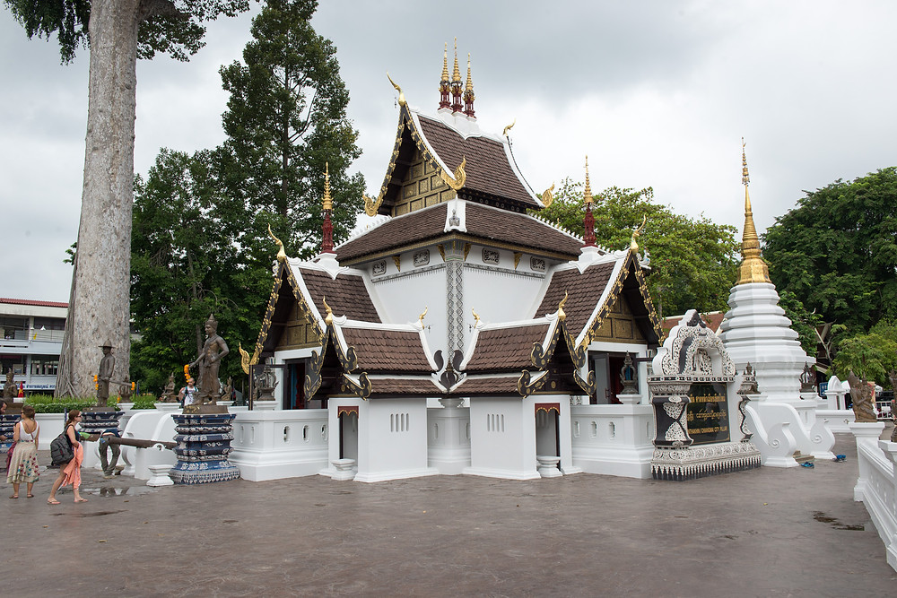 One of so many temples in Chiang Mai