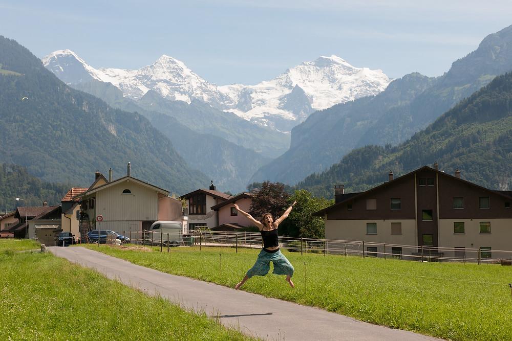 Side trip to Switzerland