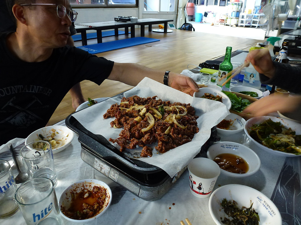 Black goat bulgogi - what a feast