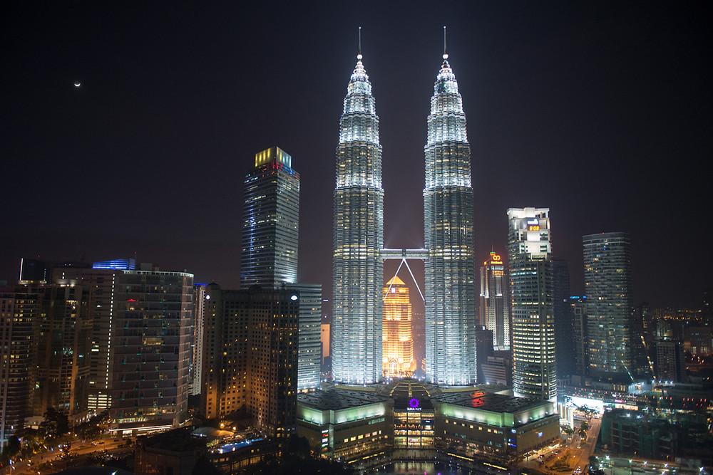 Petronas Towers in K.L.