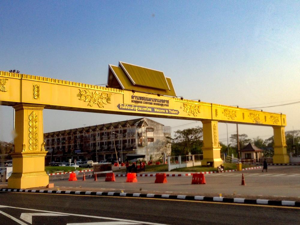 The border at Nong Khai