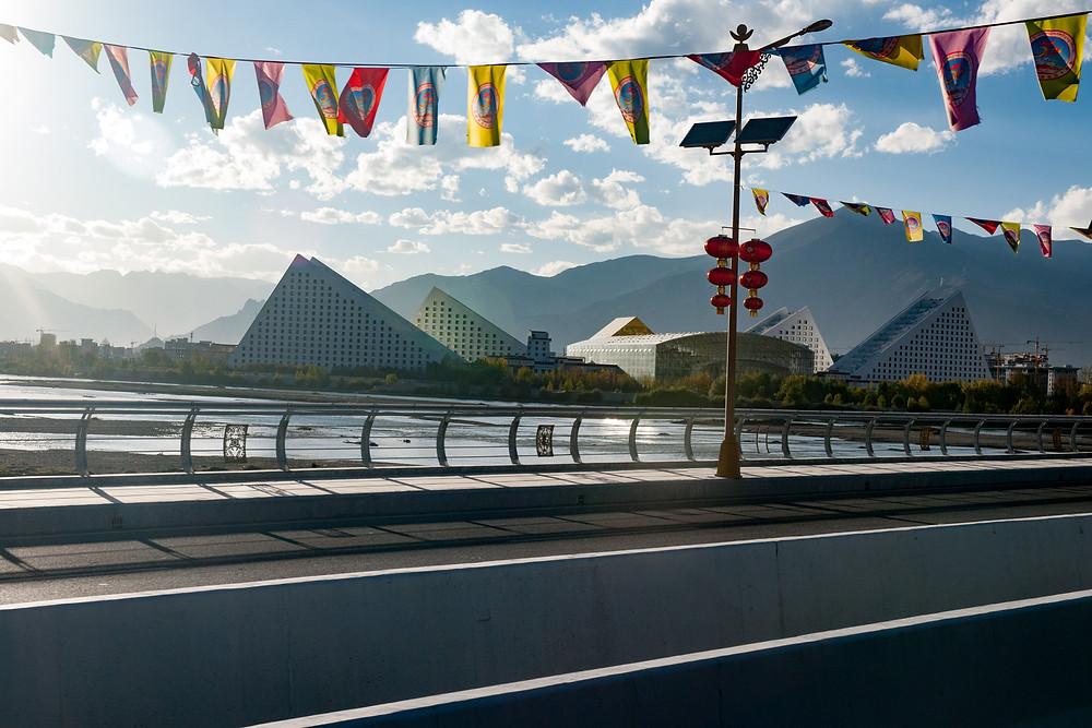 Entering Lhasa