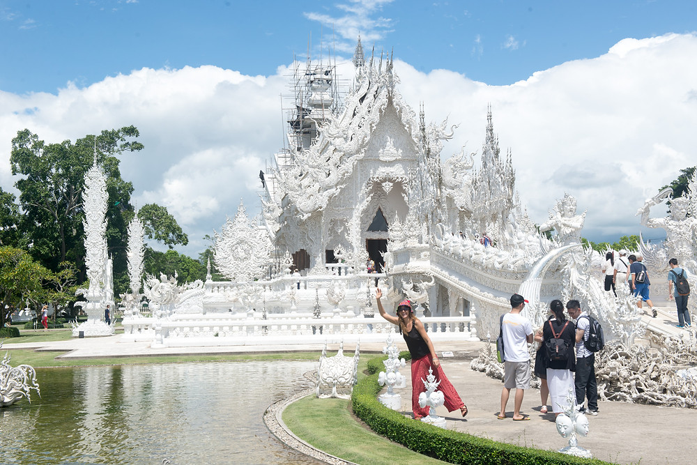 Wat Rong Khun - outside Chiang Rai