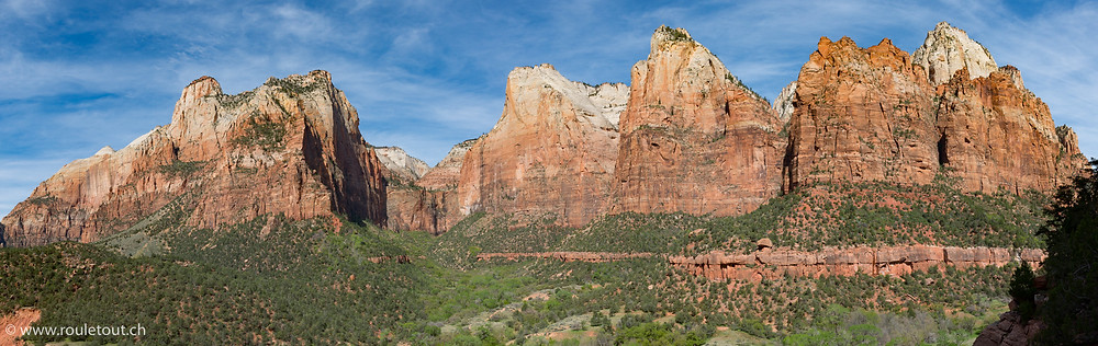 In Zion National Park