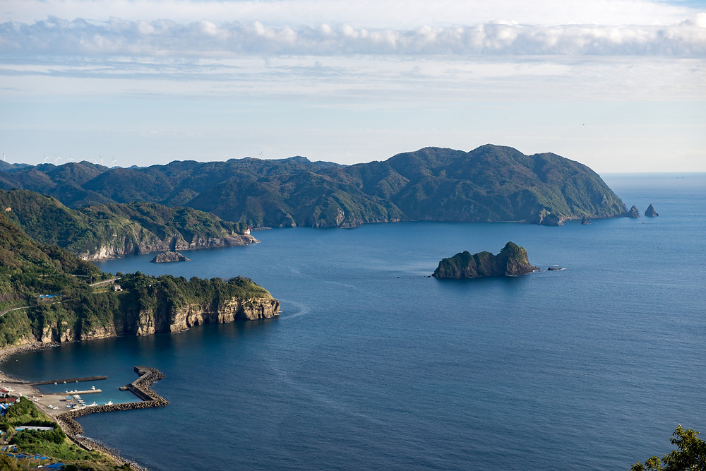 The coast line on Izu hanto