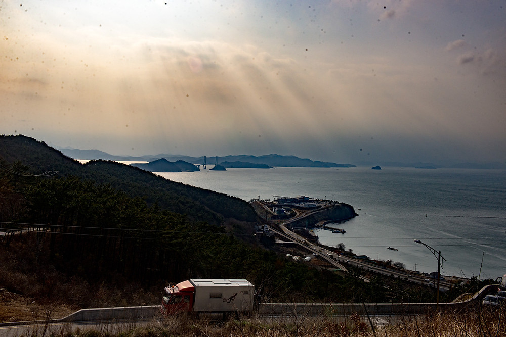 At the coast near Busan