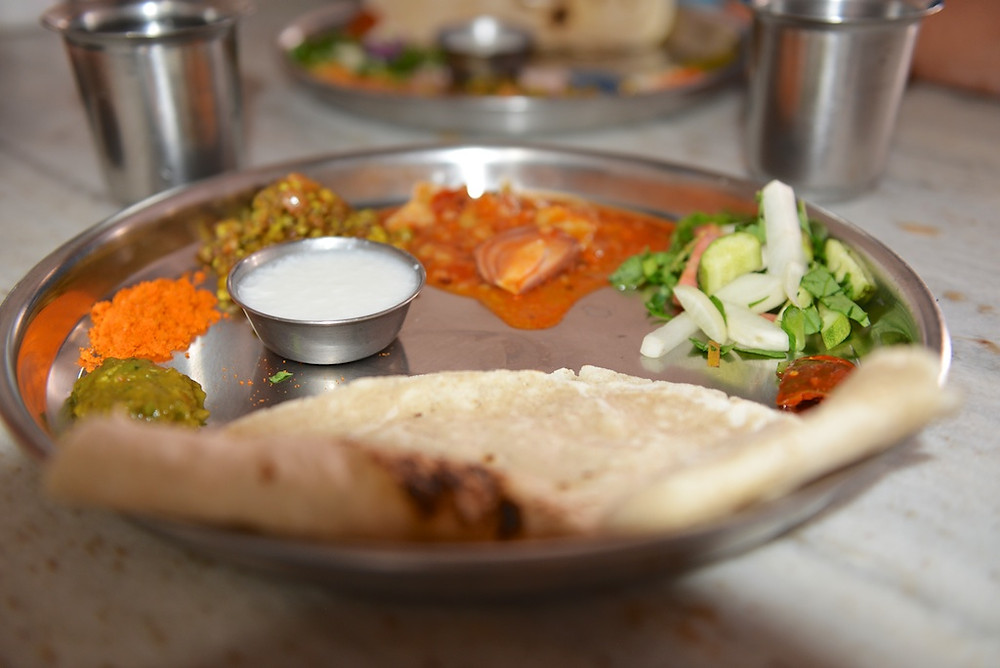 Thali, the typical lunch