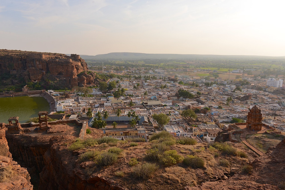 Badami from the top